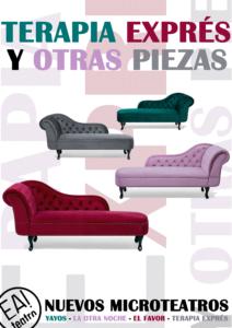 MICROTEATROS: Terapia exprés y otras piezas @ Ea! Teatro