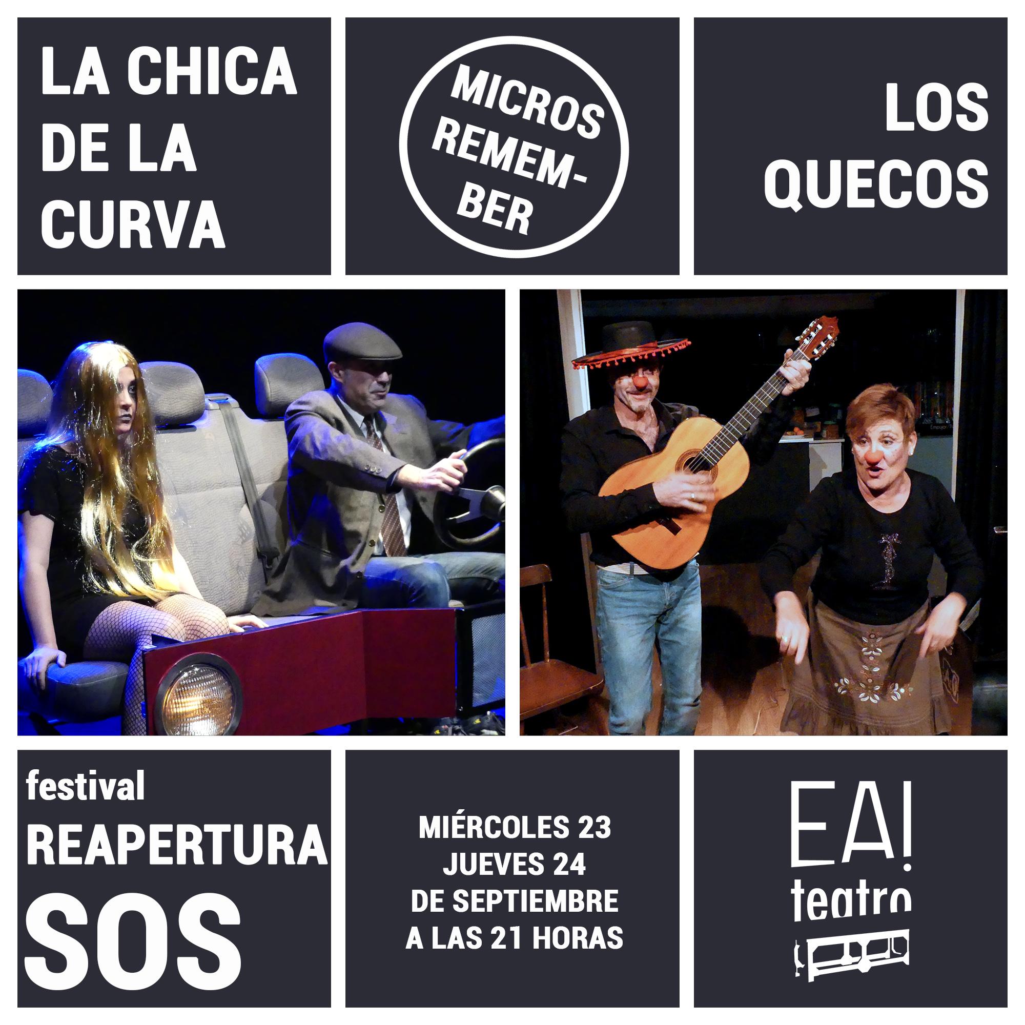 MICROS REMEMBER: «LA CHICA DE LA CURVA» Y «LOS QUECOS»