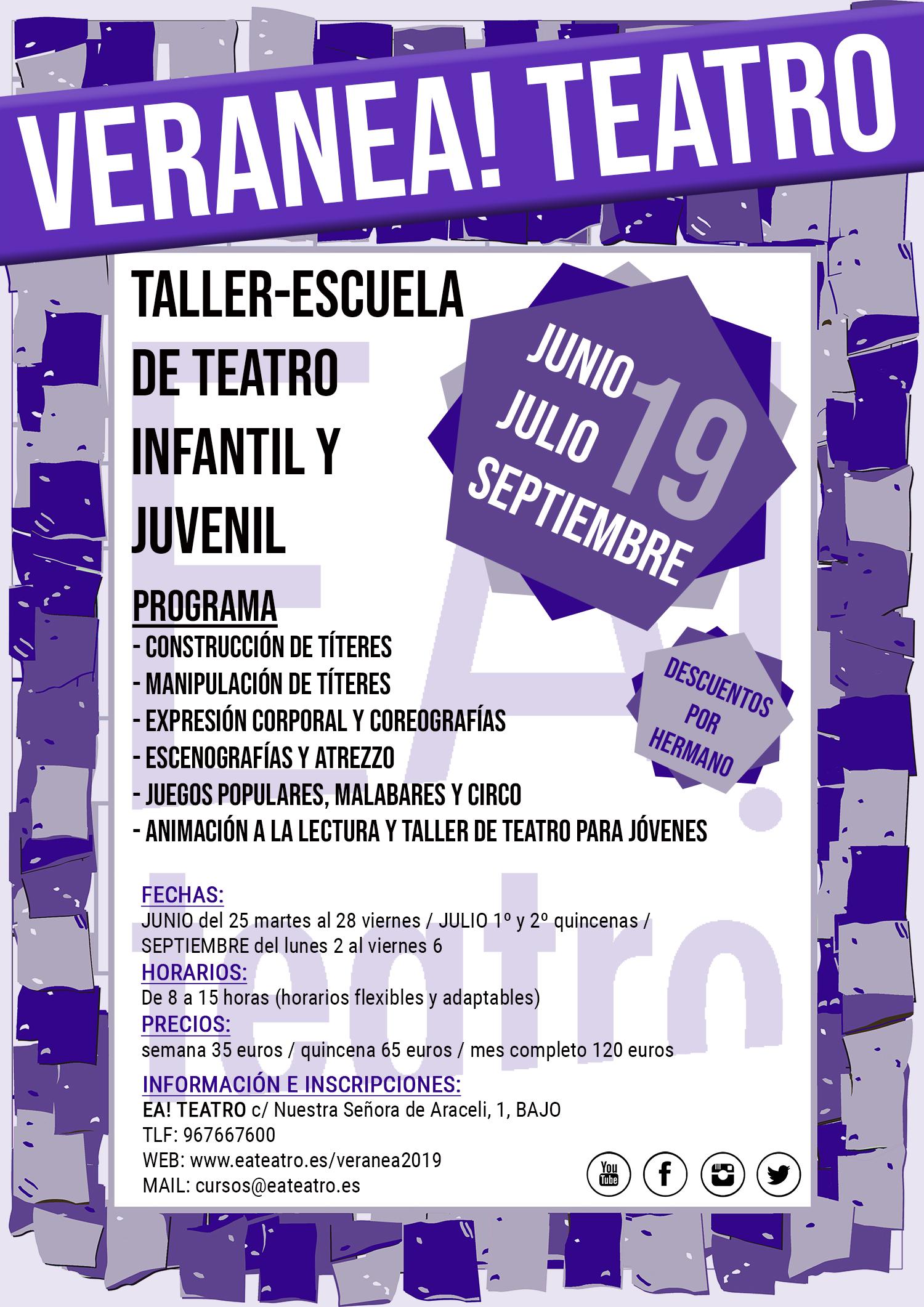 VeranEa! Teatro 2019