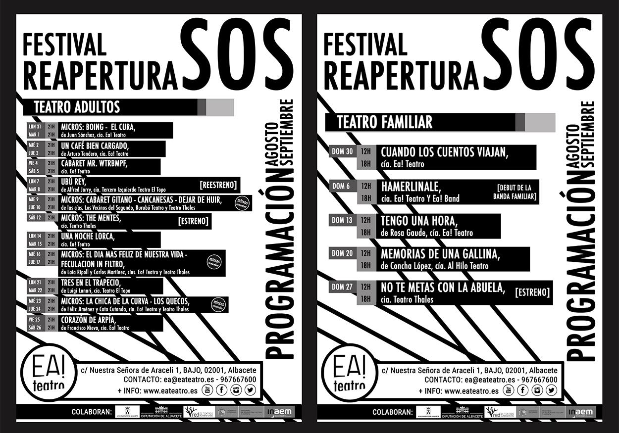 FESTIVAL SOS REAPERTURA
