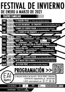 FESTIVAL DE INVIERNO TEATRO FAMILIAR